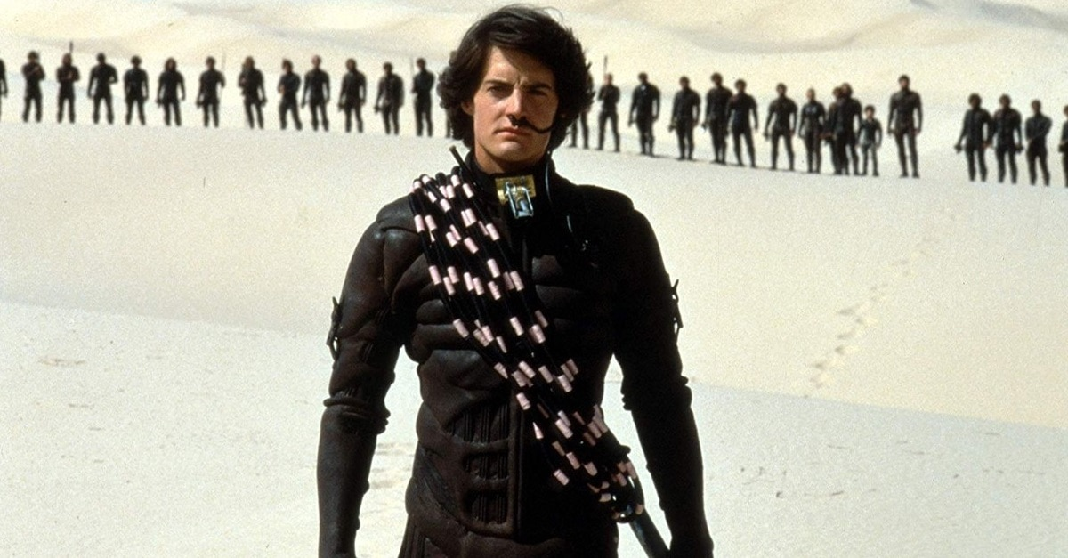 Dune 1984 Banner - How Does Kyle MacLachlan Feel About Denis Villeneuve's DUNE Reboot?
