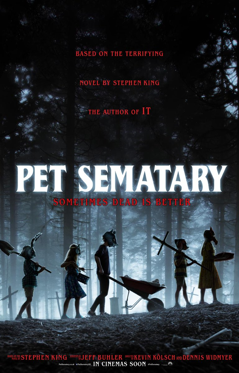 Dyz0 7ZW0AAqtb2 - Latest PET SEMATARY Poster Pays Homage to Another Classic STEPHEN KING Adaptation