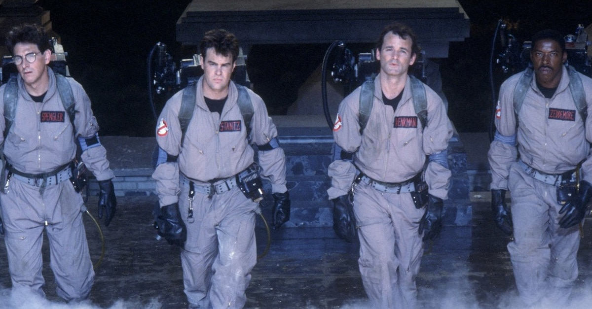 Ghostbusters 1984 banner - First Ever GHOSTBUSTERS Fan Fest Will Reunite Dan Aykroyd and Ernie Hudson