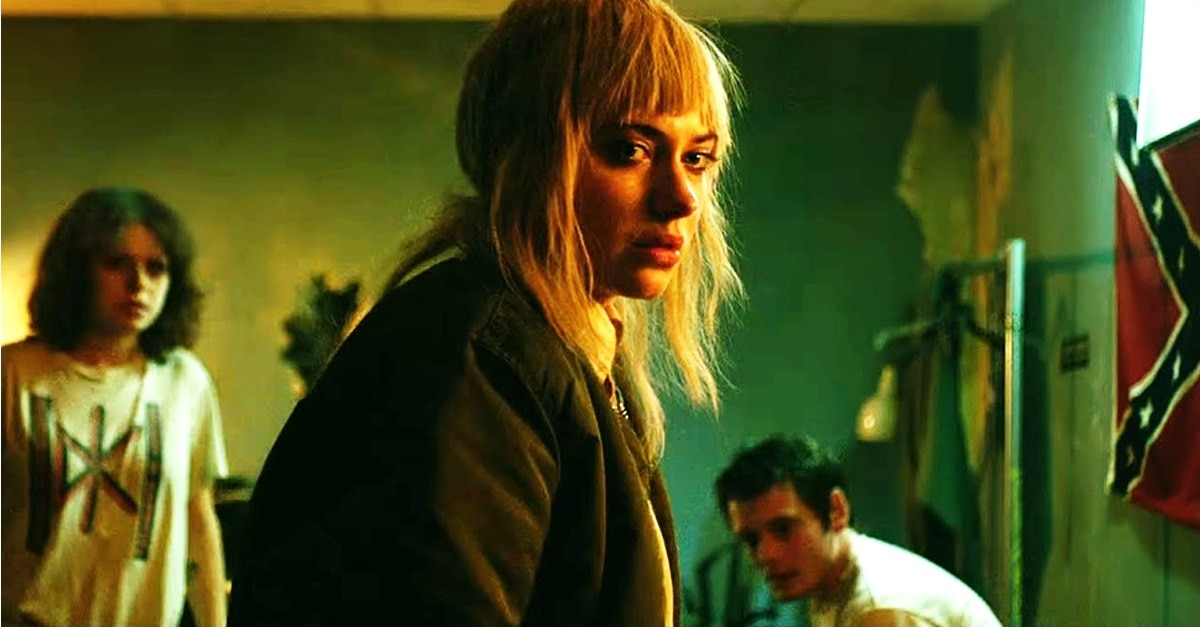 Green Room Imogen Poots Banner - Imogen Poots Joins Nic Cage in Post-Apocalyptic Horror PRISONERS OF THE GHOSTLAND