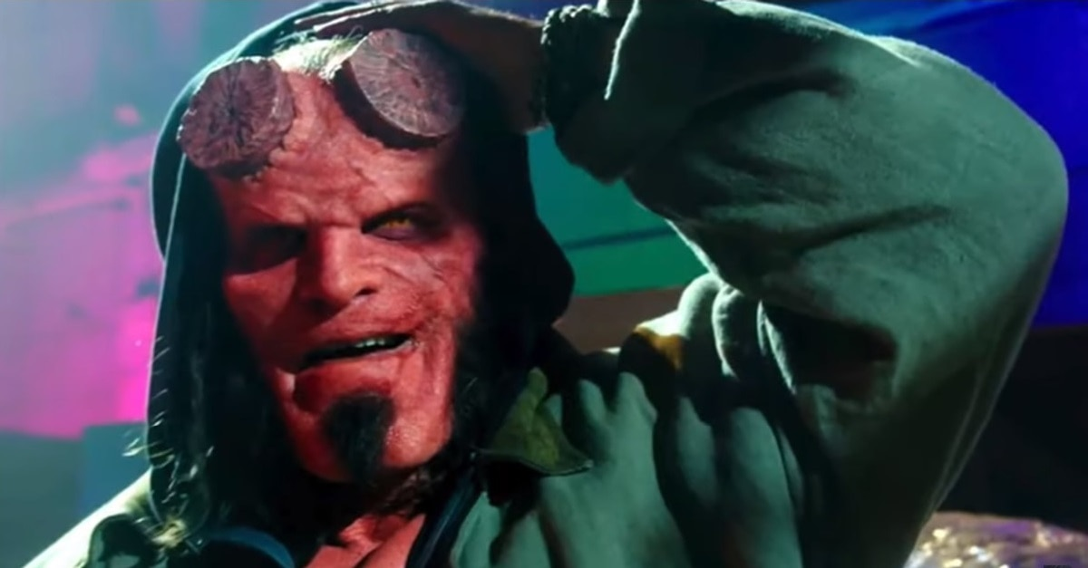 Hellboy 2019 - In HELLBOY David Harbour Displays a Unique Feature Never Before Seen in Film