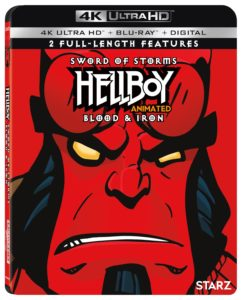 Hellboy Animated 241x300 - Before Neil Marshall's Live Action Film, Check Out HELLBOY ANIMATED: SWORD OF STORMS and BLOOD & IRON