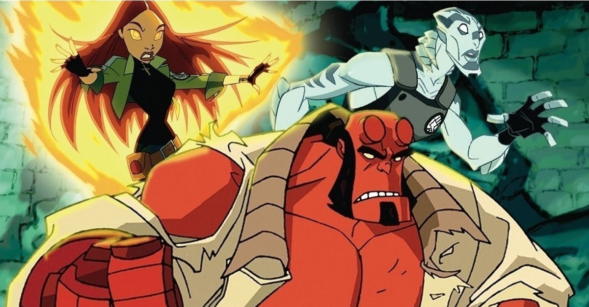 Hellboy Animated banner - Before Neil Marshall's Live Action Film, Check Out HELLBOY ANIMATED: SWORD OF STORMS and BLOOD & IRON