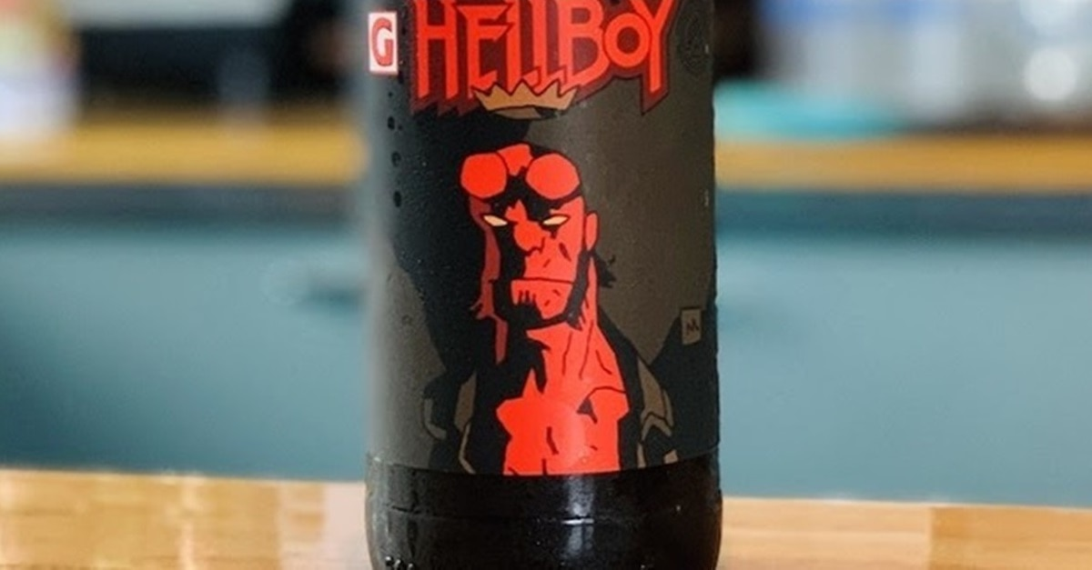 Hellboy Beer Banner - Drink Like the Damned with 666 Cases of HELLBOY Beer on Tap