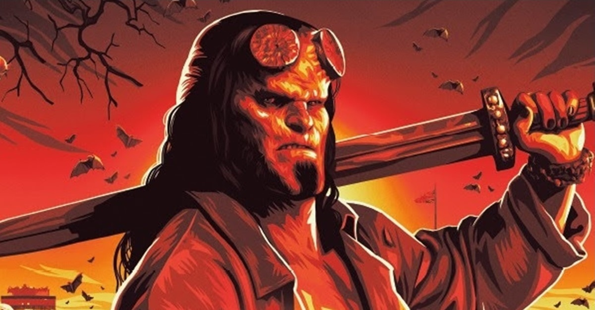Hellboy The Art of the Film Banner - HELLBOY: THE ART OF THE MOTION PICTURE Hardcover Book Will Coincide with Movie Release