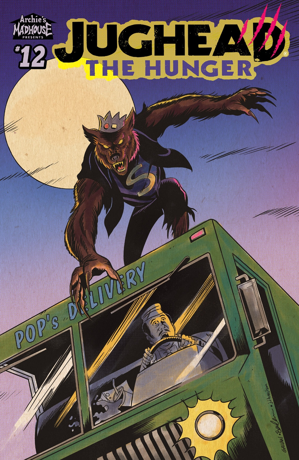 JugheadTheHunger 12 CoverC Galvan - Exclusive: JUGHEAD: THE HUNGER Issue #12 Covers and Preview