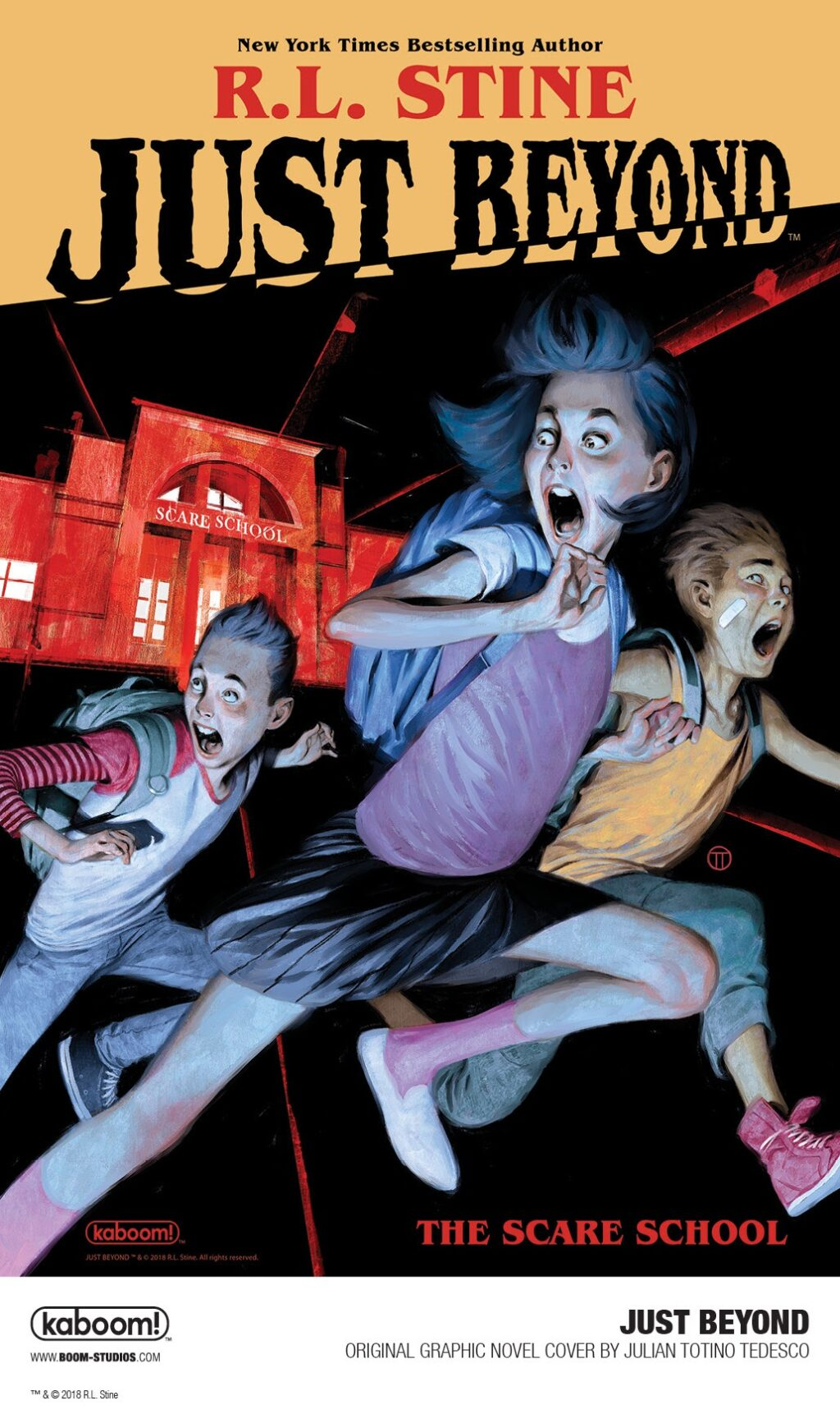 Just Beyond The Scare School 1 1024x1722 - Gallery: First Look at R.L. Stine's JUST BEYOND: THE SCARE SCHOOL Original Graphic Novel
