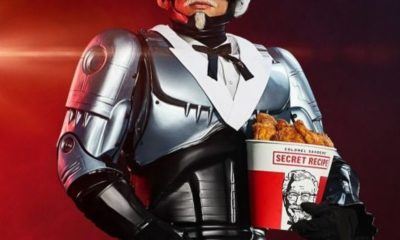 KFC RoboCop Banner 400x240 - ROBOCOP RETURNS--In KFC Commercials