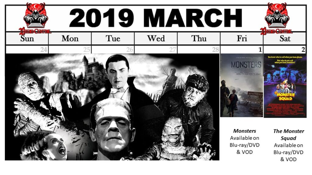 March 2019 Week 1 1024x576 - March Monster Madness: Dread Central's 31-Day Challenge for March 2019