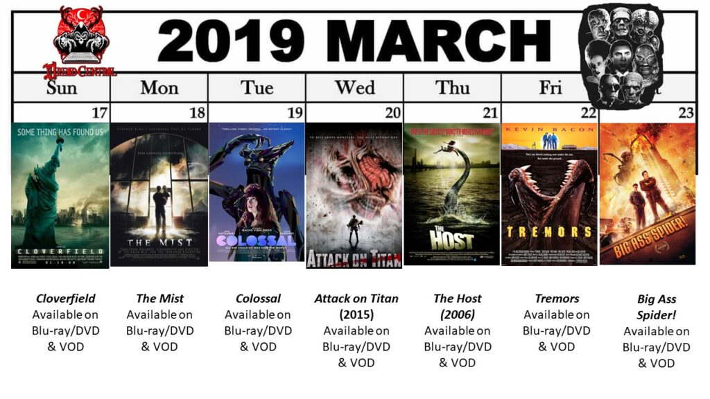 March 2019 Week 4 1 1024x576 - March Monster Madness: Dread Central's 31-Day Challenge for March 2019