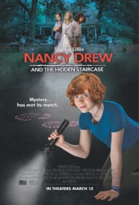 Nancy Drew and the Hidden Staircase One Sheet 203x300 - IT Star Sophia Lillis Leads NANCY DREW AND THE HIDDEN STAIRCASE