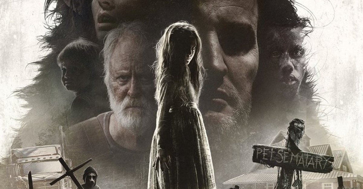 Pet Sematary 2019 Banner - Theatrical Poster for PET SEMATARY Includes Hidden Zelda!