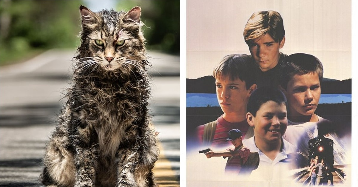 Pet Sematary Stand By Me - Latest PET SEMATARY Poster Pays Homage to Another Classic STEPHEN KING Adaptation