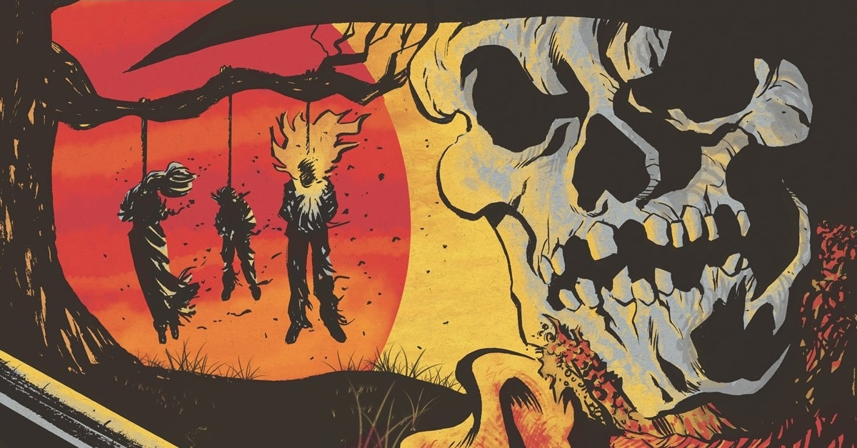 Spirit Reckoning Banner - Old-School Poster for Western Horror SPIRIT RECKONING Seeks Justice from Beyond the Grave
