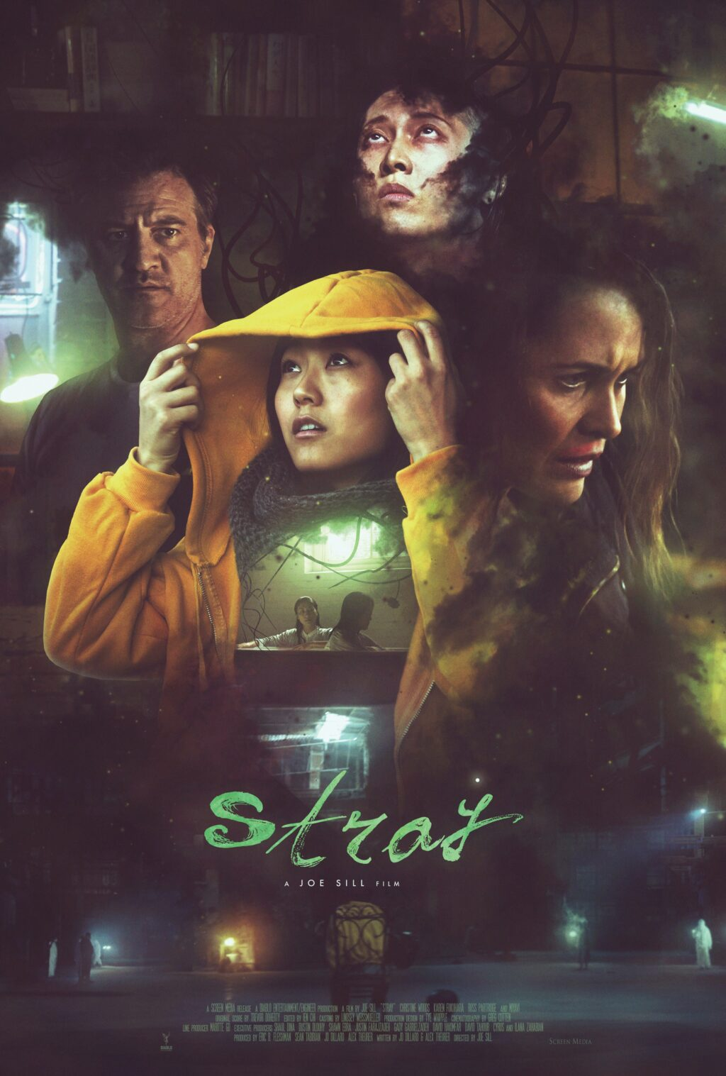 Stray 2019 Poster 1024x1517 - Trailer and Poster for STRAY Blend Police Procedural and Supernatural Terror