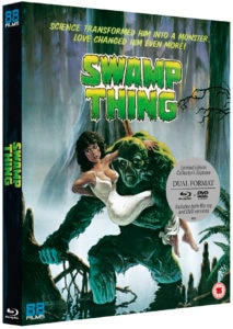 Swamp Thing 3D Packshot Slipcase 213x300 - Special Features Announced for UK Blu-ray Reissue of Wes Craven's SWAMP THING