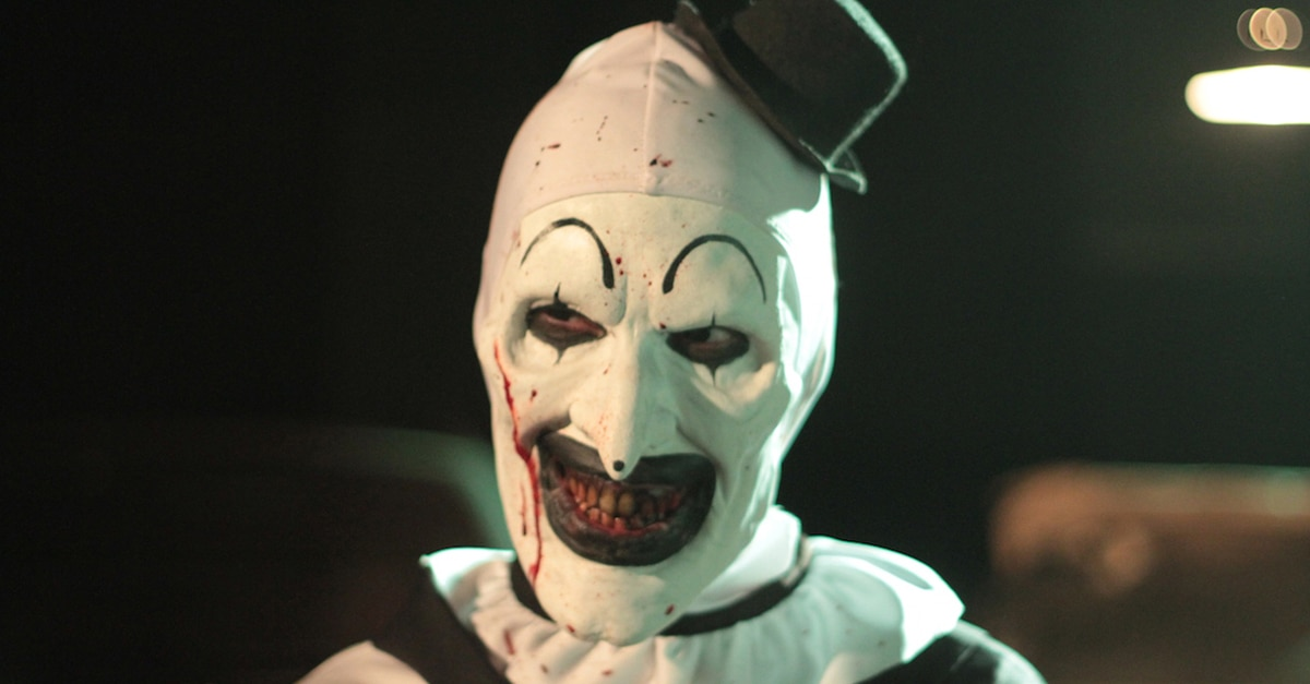 "TERRIFIER 05 Art the Clowns - Official TERRIFIER/Art the Clown Mask & Costume Available for Pre Order + Enamel Pin & ""Scare Freshener"" Available Now!"
