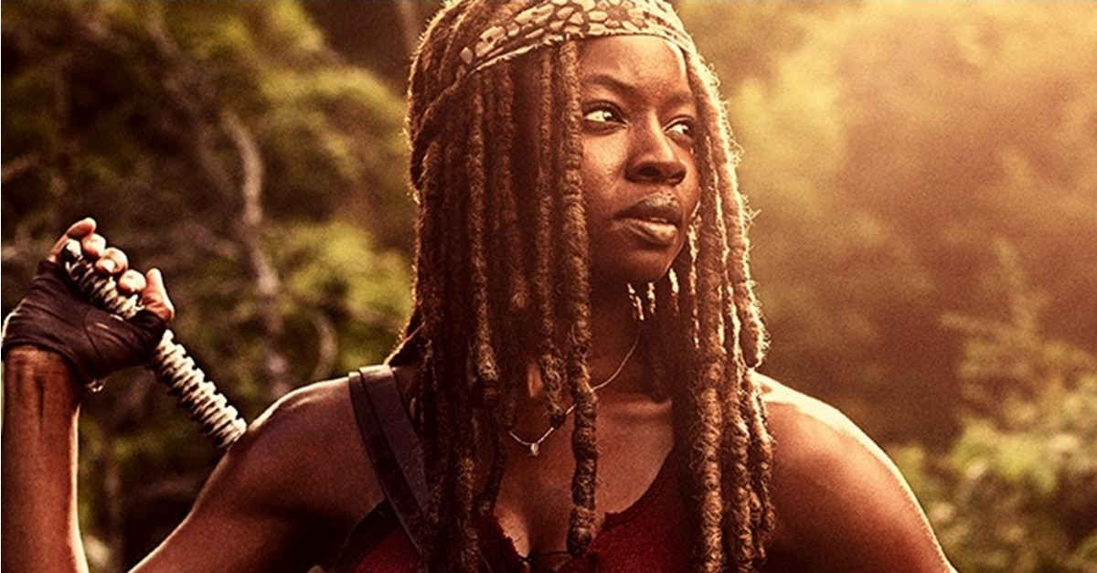 TWD Michonne Banner - Michonne Recaps Events of THE WALKING DEAD Season 9 (So Far) in Latest Clip for the Show's Return