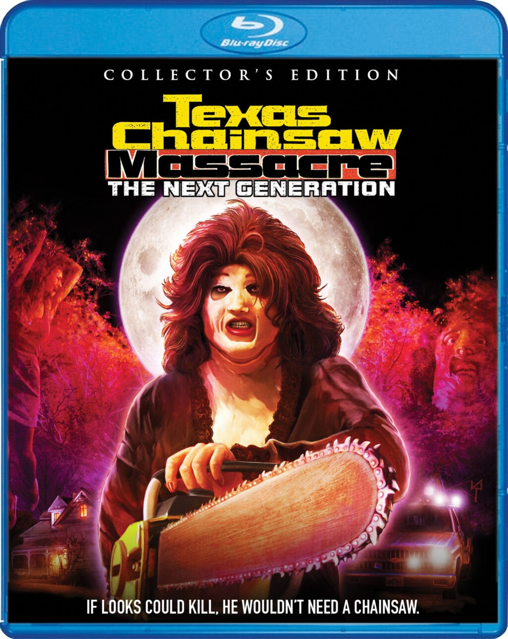 Texas Chainsaw Massacre The Next Generation Blu Ray 1024x1287 - TEXAS CHAINSAW MASSACRE: THE NEXT GENERATION Blu-ray Review - Additional Footage Only Makes a Bad Film Worse