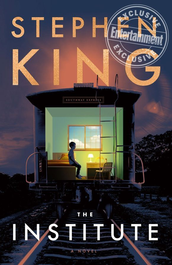 "The Institute Novel Cover - Check Out This ""First Look"" at the Cover for Stephen King's Next Novel THE INSTITUTE"