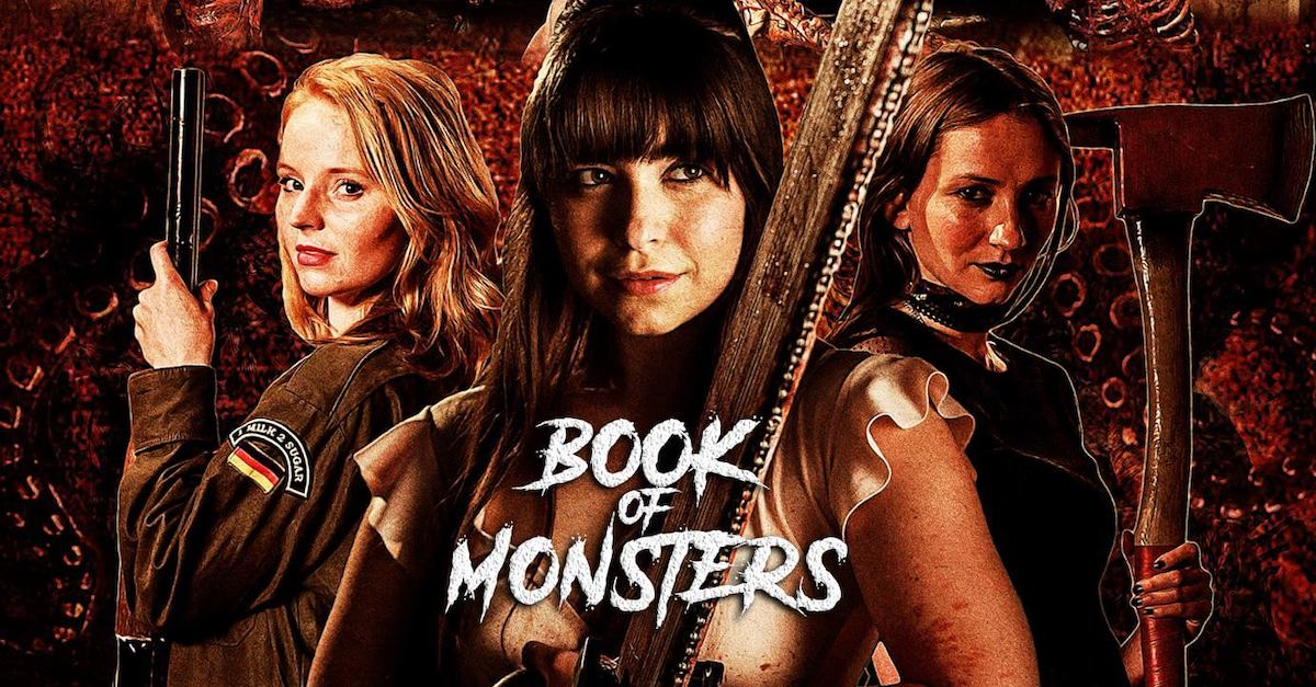 bookofmonstersbanner - DREAD Presents: BOOK OF MONSTERS Poster and Blu-ray Artwork Explained