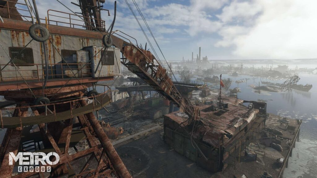 crane 1024x576 - METRO: EXODUS Review - Still Technically About Trains