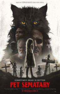 "pet sematary poster 192x300 - PET SEMATARY Producer Says They Had Three Endings: ""Dark, Darker, and Darkest""; Which One Made the Film?"