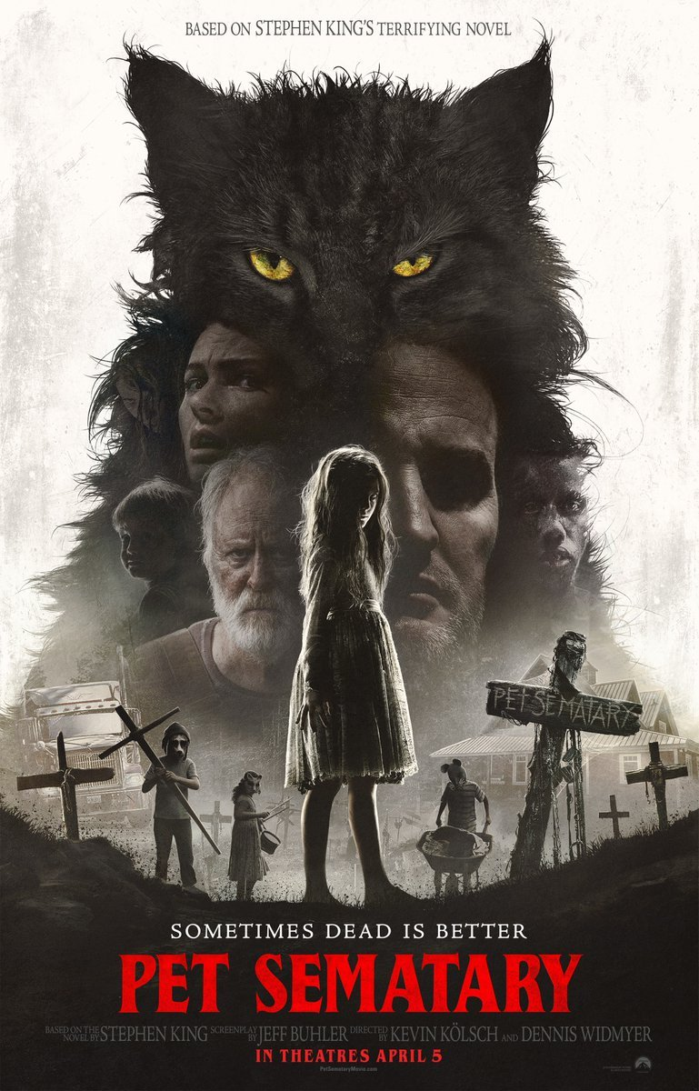 pet sematary poster - Theatrical Poster for PET SEMATARY Includes Hidden Zelda!
