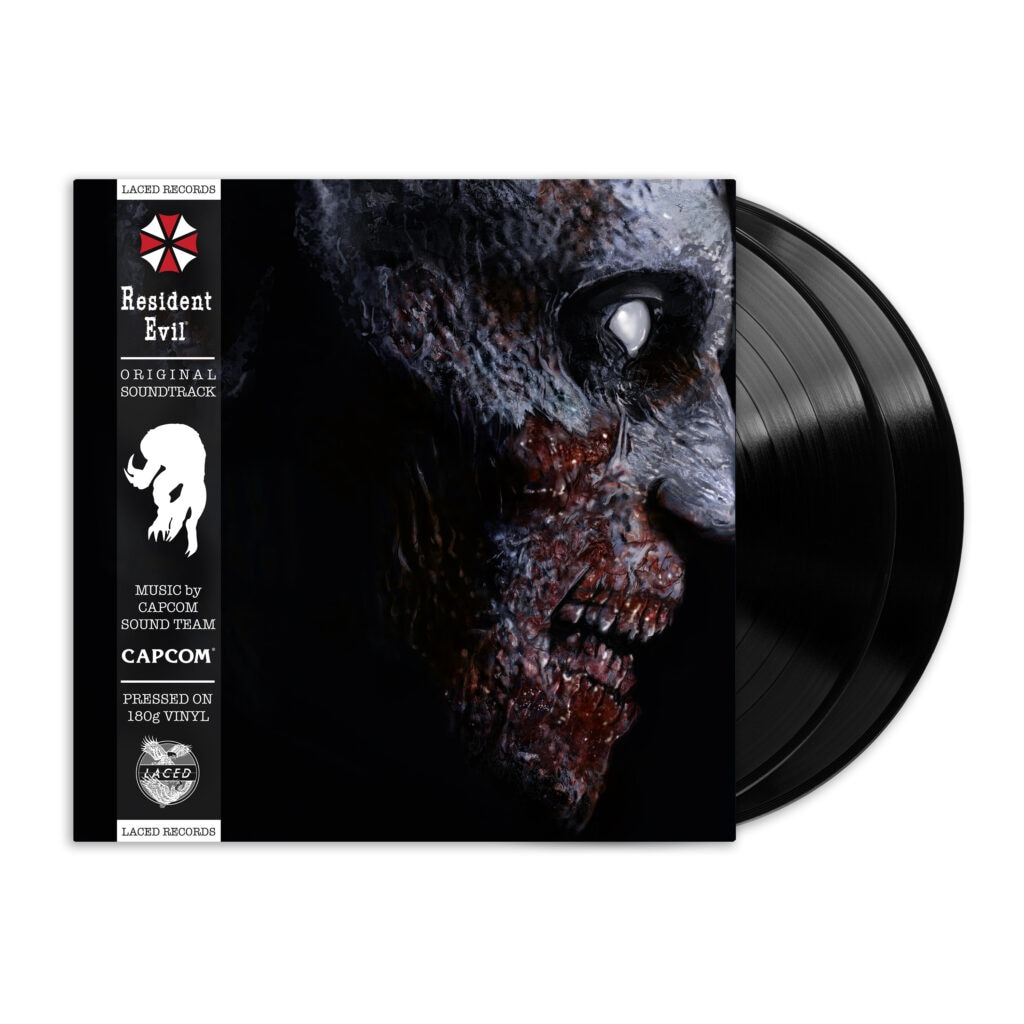 re1 render1 black 1 1024x1024 - The First Two RESIDENT EVIL Games Are Getting Vinyl Soundtracks!