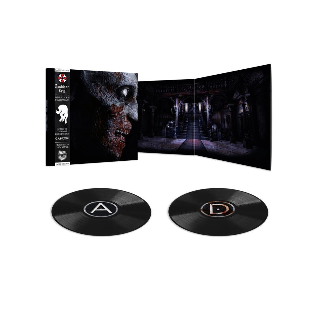re1 render3 black 1024x1024 - The First Two RESIDENT EVIL Games Are Getting Vinyl Soundtracks!