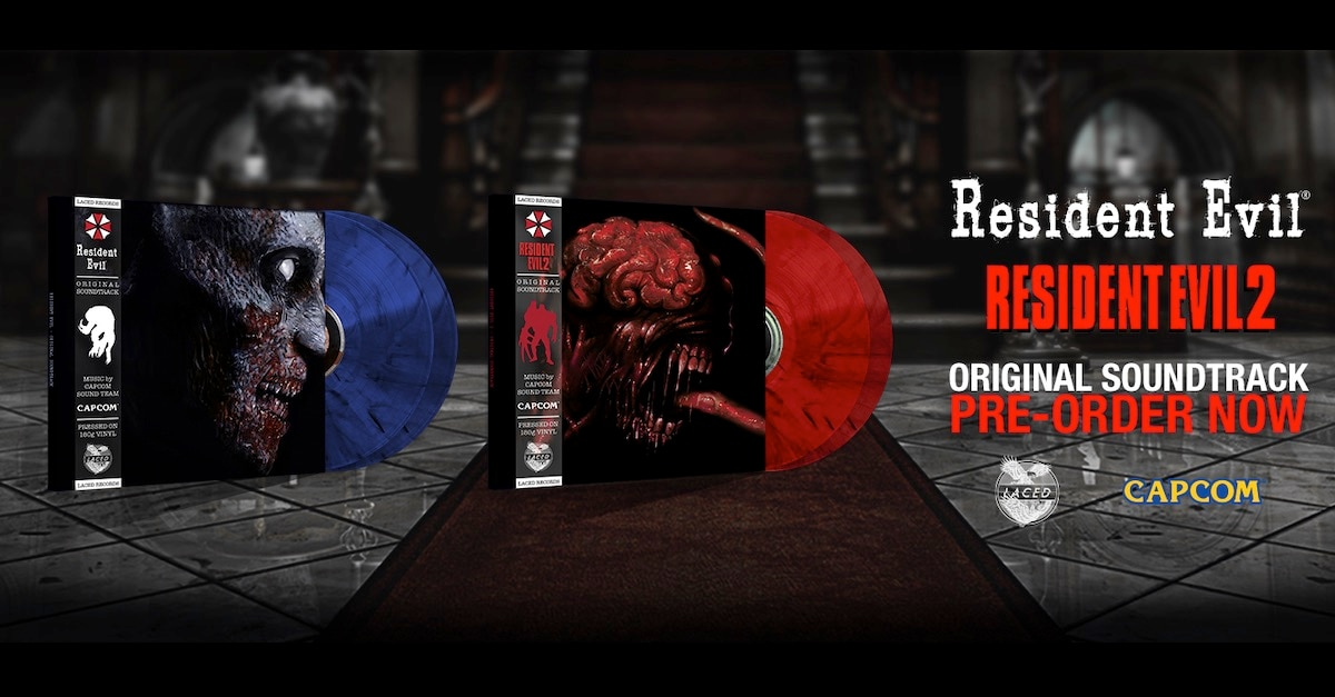 re1and2vinylbanner - The First Two RESIDENT EVIL Games Are Getting Vinyl Soundtracks!