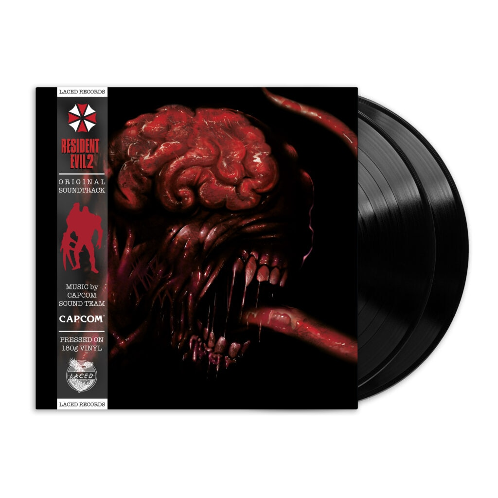 re2 render1 black 1024x1024 - The First Two RESIDENT EVIL Games Are Getting Vinyl Soundtracks!