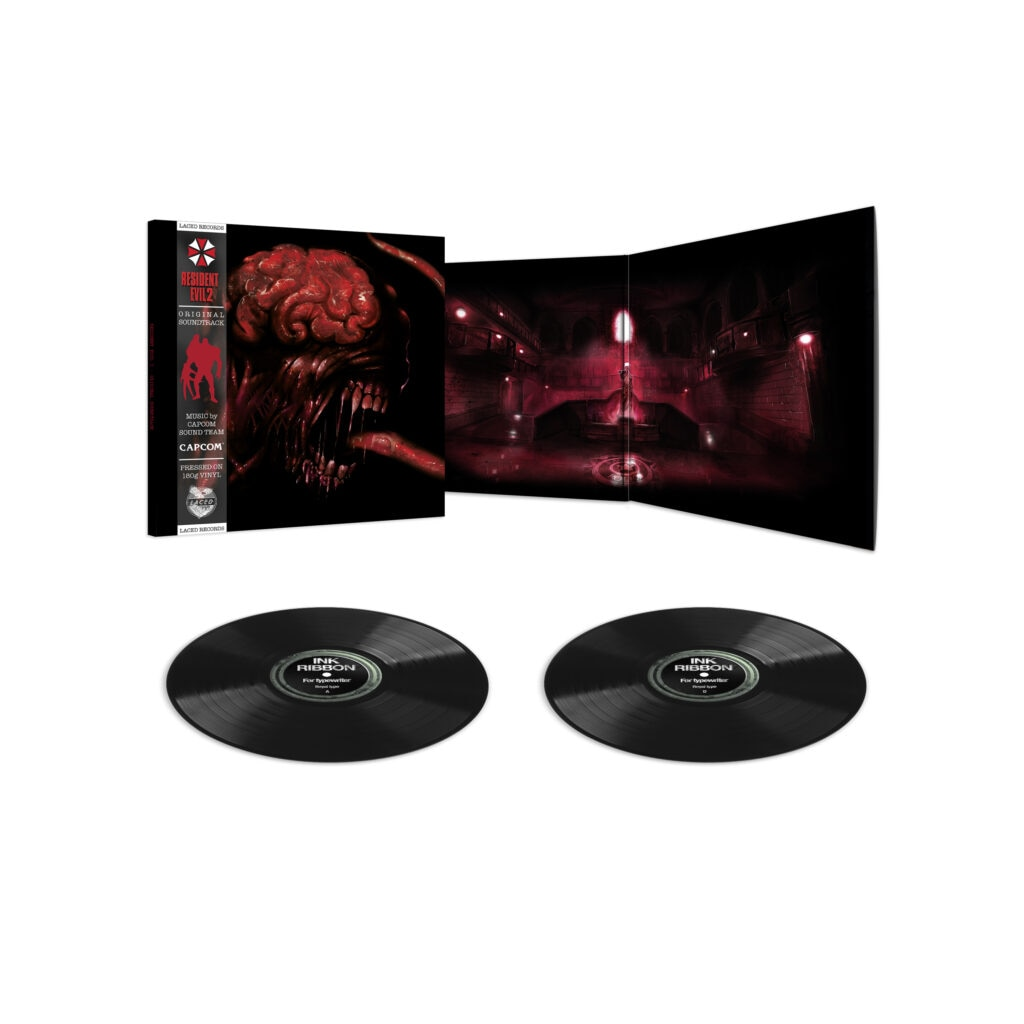 re2 render3 black 1024x1024 - The First Two RESIDENT EVIL Games Are Getting Vinyl Soundtracks!