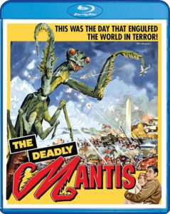 the deadly mantis blu ray 1 239x300 - THE DEADLY MANTIS Leaping Onto Blu-ray Next Month