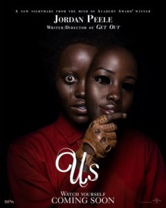 "uslupitaposter 240x300 - If Jordan Peele Described GET OUT as a ""Documentary"" What's US? Peele Sets the Record Straight"