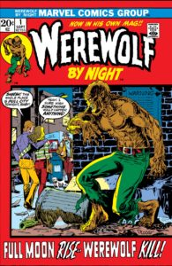 werewolfbynightissue1 195x300 - Horror Unlimited: The Terror of WEREWOLF BY NIGHT