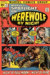werewolfbynightmarvelspotlight2 201x300 - Horror Unlimited: The Terror of WEREWOLF BY NIGHT