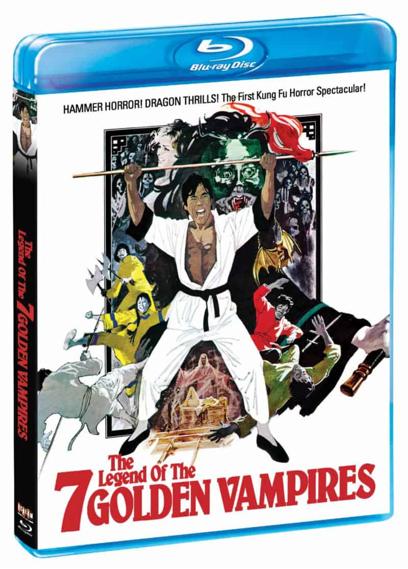 7 Golden Vampires Blu - THE LEGEND OF THE 7 GOLDEN VAMPIRES Blu-ray Review - Hammer Horror By Way of China