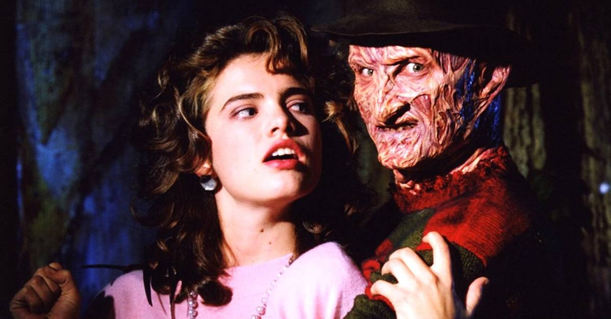 A Nightmare on Elm Street Nancy and Freddy Banner - A NIGHTMARE ON ELM STREET's Heather Langenkamp Wants to Join THE CONJURING Universe
