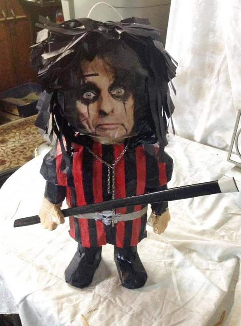 Alice Piñata - Horror-Themed Piñatas from HANG ME Will Make Your Next Party a Smash