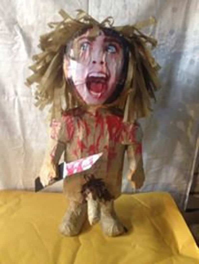 Angela Piñata - Horror-Themed Piñatas from HANG ME Will Make Your Next Party a Smash