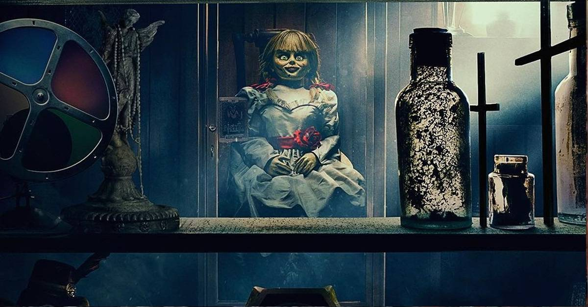 Annabelle 3 banner - ANNABELLE COMES HOME Review - The Best CONJURING Spinoff So Far