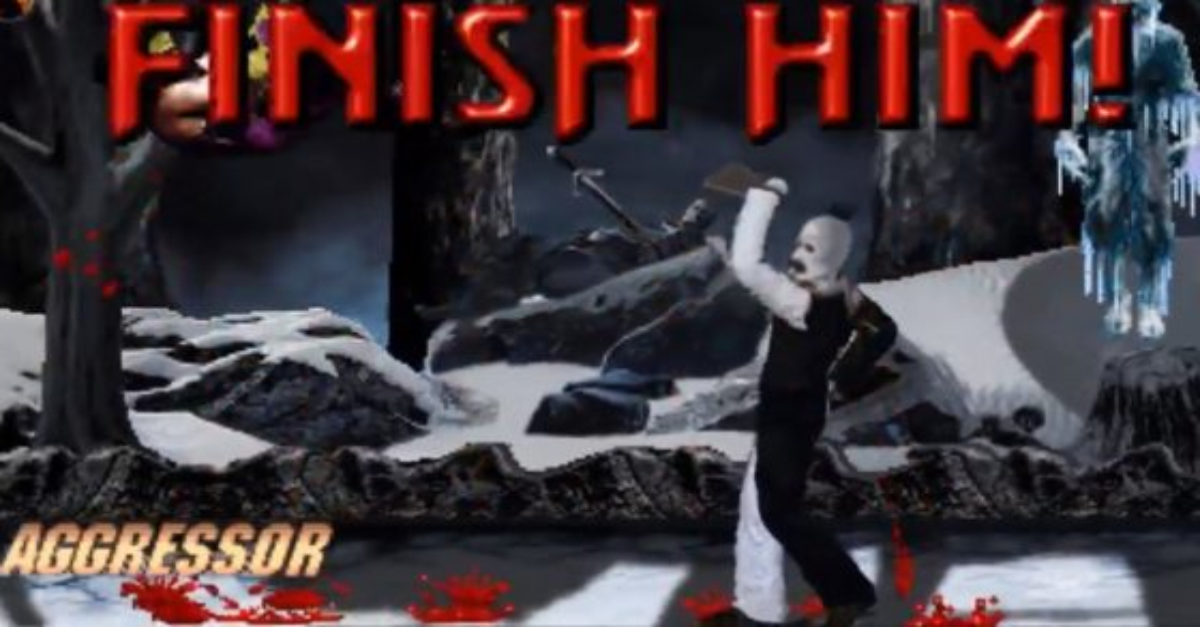 Art the Clown Mortal Kombat Banner 560x315 - YouTuber Turns TERRIFIER's Art the Clown into MORTAL KOMBAT Character