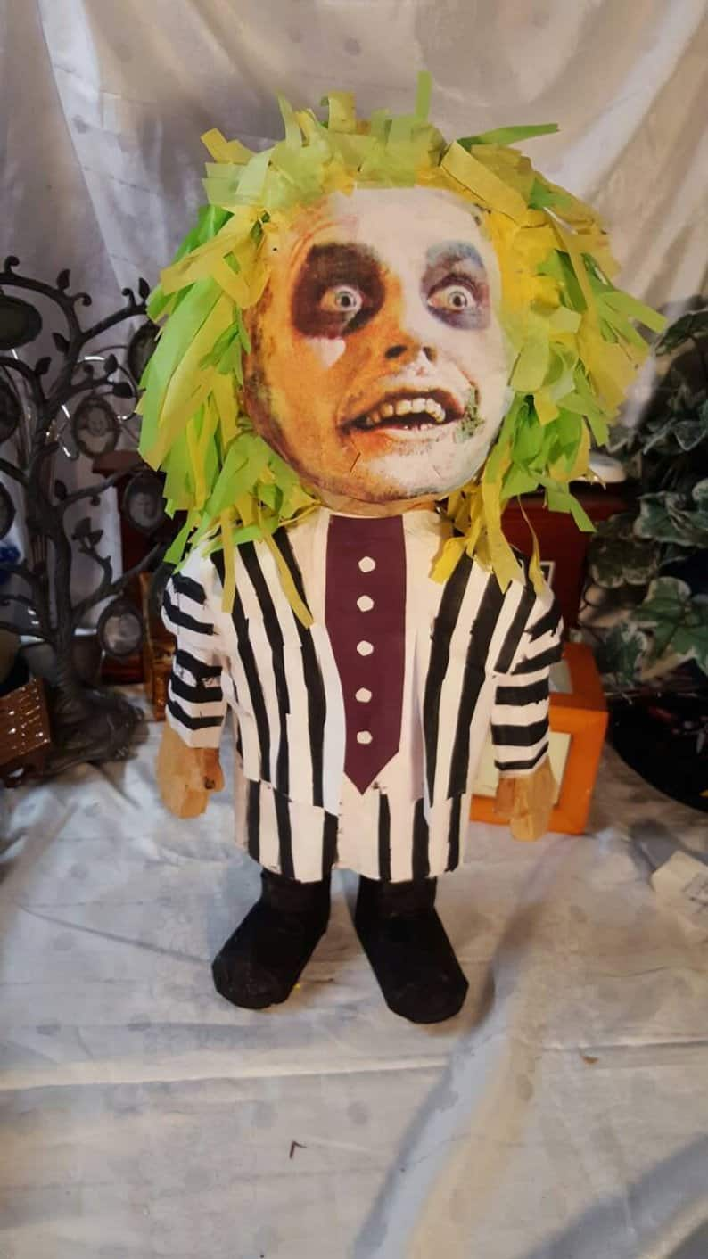 Beetlejuice Piñata - Horror-Themed Piñatas from HANG ME Will Make Your Next Party a Smash
