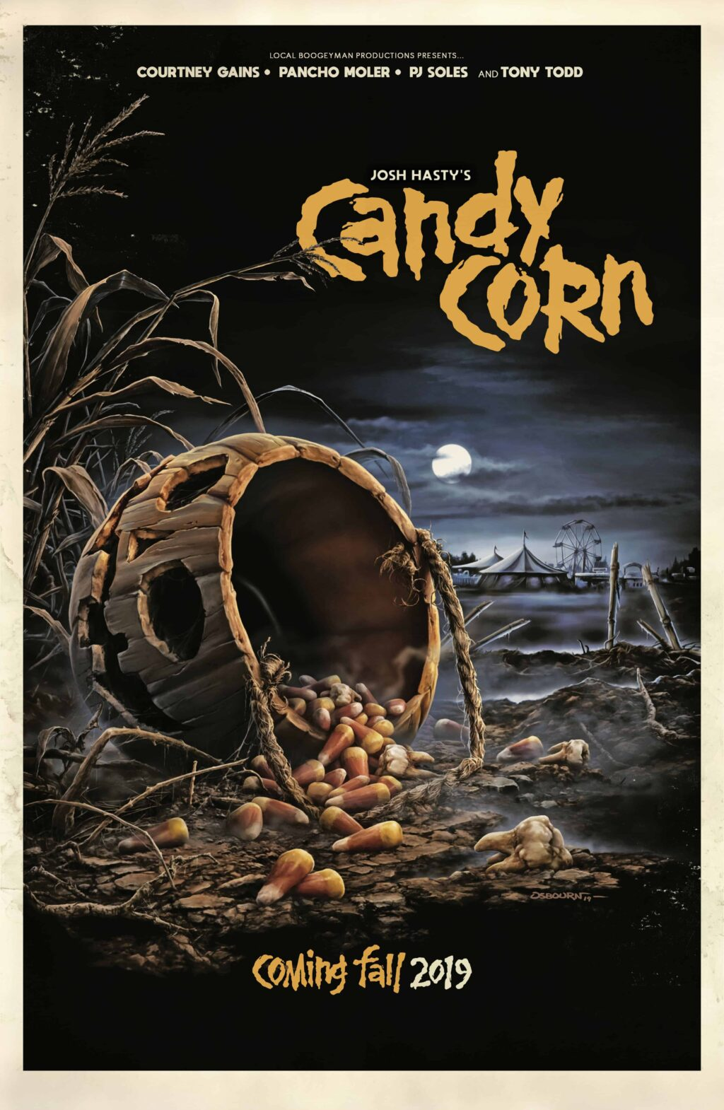 Candy Corn Poster 1024x1570 - Exclusive: CANDY CORN Looks Like the Perfect Halloween-Themed Treat for Horror Fans