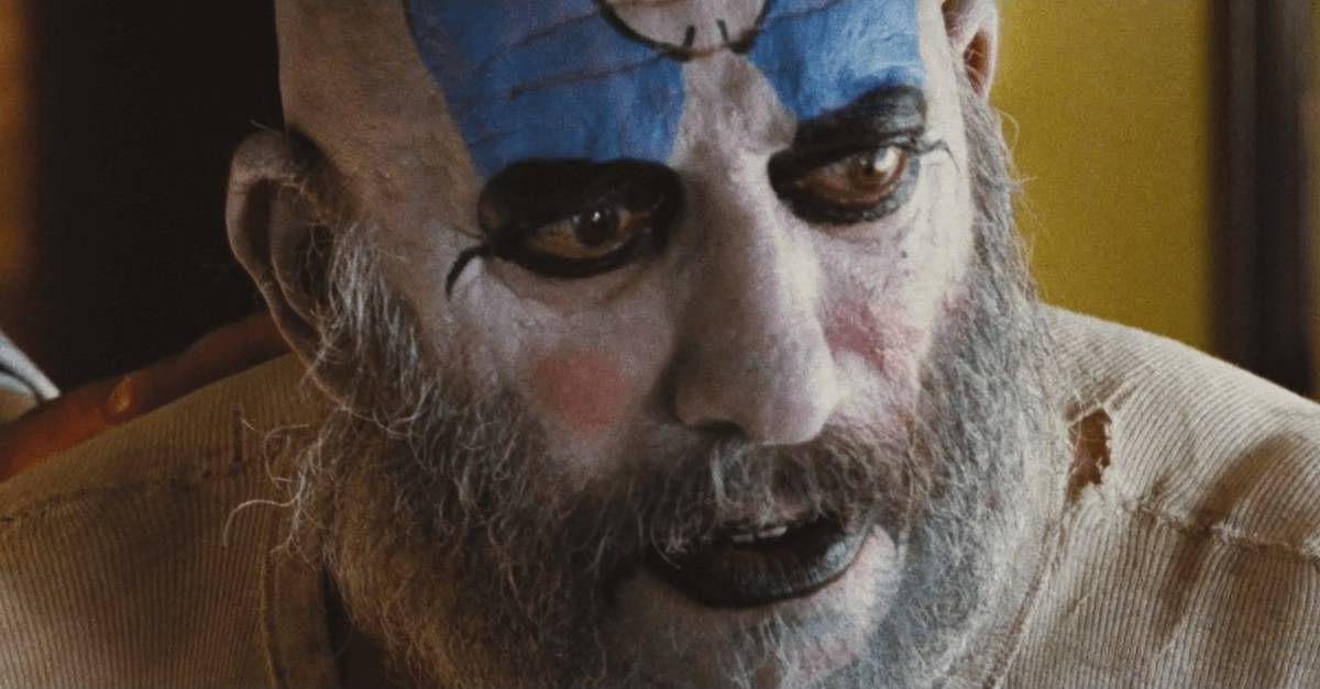 Captain Spaulding Banner - Sorry Horror Fans, THREE FROM HELL is Not Being Released on Halloween