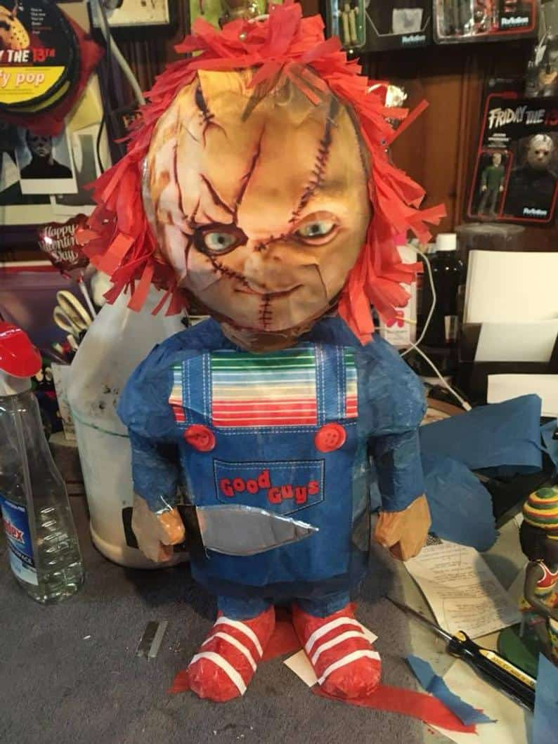 Chucky Piñata - Horror-Themed Piñatas from HANG ME Will Make Your Next Party a Smash