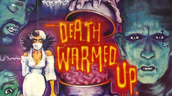 Death Warmed Up Banner 560x315 - New Zealand Cult Horror DEATH WARMED UP Remastered with Special Features from Severin