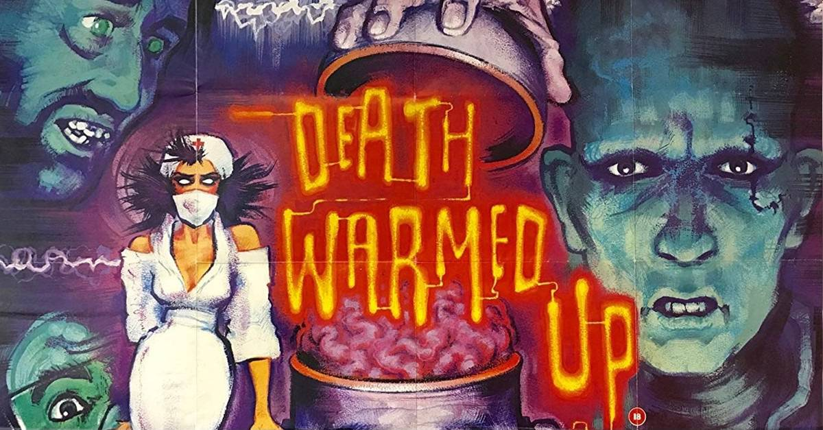 Death Warmed Up Banner - New Zealand Cult Horror DEATH WARMED UP Remastered with Special Features from Severin