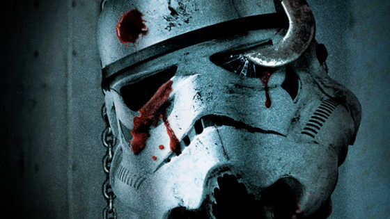 Deathtroopersstarwarsbanner 560x315 - Alternate STAR WARS Posters Get Mashed With Iconic Horror Movies